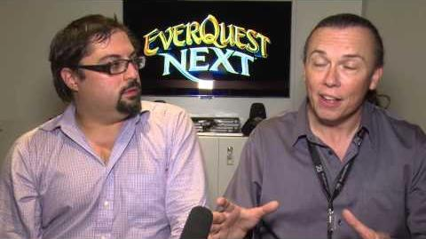Gamescom 2013 EverQuest Next Interview with Omeed Dariani and David Georgeson, part 2 3