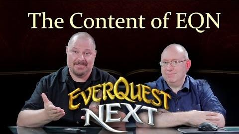 Devs Talk a Life of Consequence in EverQuest Next FULL VERSION