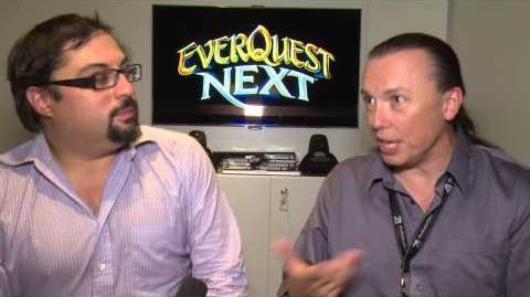 Gamescom 2013 EverQuest Next Interview with Omeed Dariani and David Georgeson, part 3