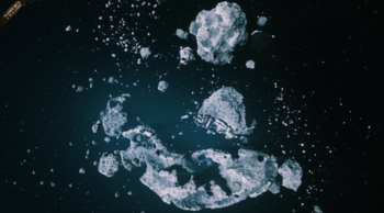Asteroid Cluster