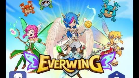 Playing EverWing with a Graphics Tablet