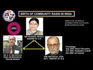Birth of Community Radio in India