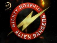 Mighty Morphin Alien Rangers Logo