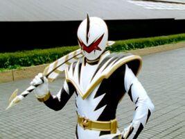 Evil White Dino Thunder Ranger