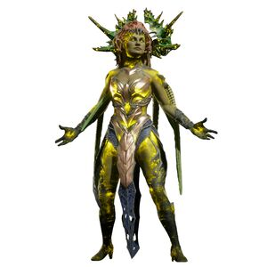 Lady Cetrion the Fallen Elder Goddess