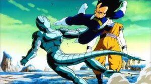Vegeta saves Goku compilation