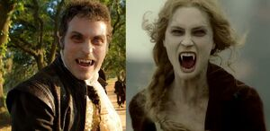Adam and Vadoma (Abraham Lincoln Vampire Hunter)
