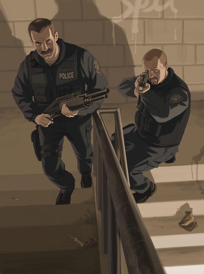 Policja (Grand Theft Auto)
