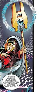 The Iron Queen's Iron Sceptre
