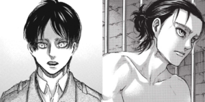 Eren Before and After