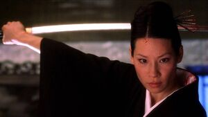 O-Ren Ishii rising to power