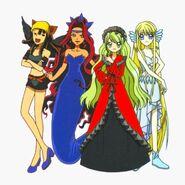 The 4 Dark Lovers