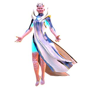 Lady Kronika the Great Titaness of Time