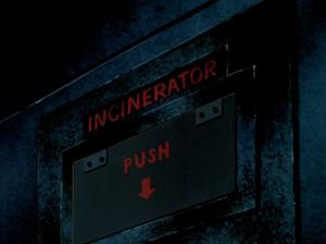 Lab incinerator
