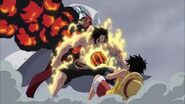 ACE DEATH!!! Akainu vs Ace Ace Protect Luffy from Akainu's Magma Arc Marineford Part 6