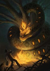 Boitatá (Fire Snake)