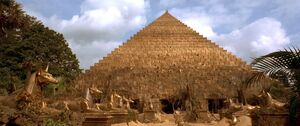 The Golden Pyramid of Ahm Shere