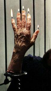 Creepy Hand of Glory