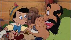 Pinocchio and Stromboli Scene.