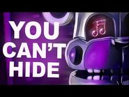 """FNAF SISTER LOCATION SONG - """"You Can't Hide"""" by CK9C -Official SFM-"""