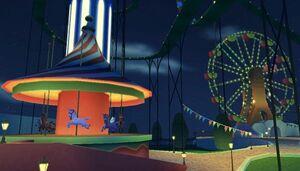 The Prankster's Paradise Amusement Park