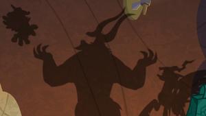 Shadows of the all-powerful Legion
