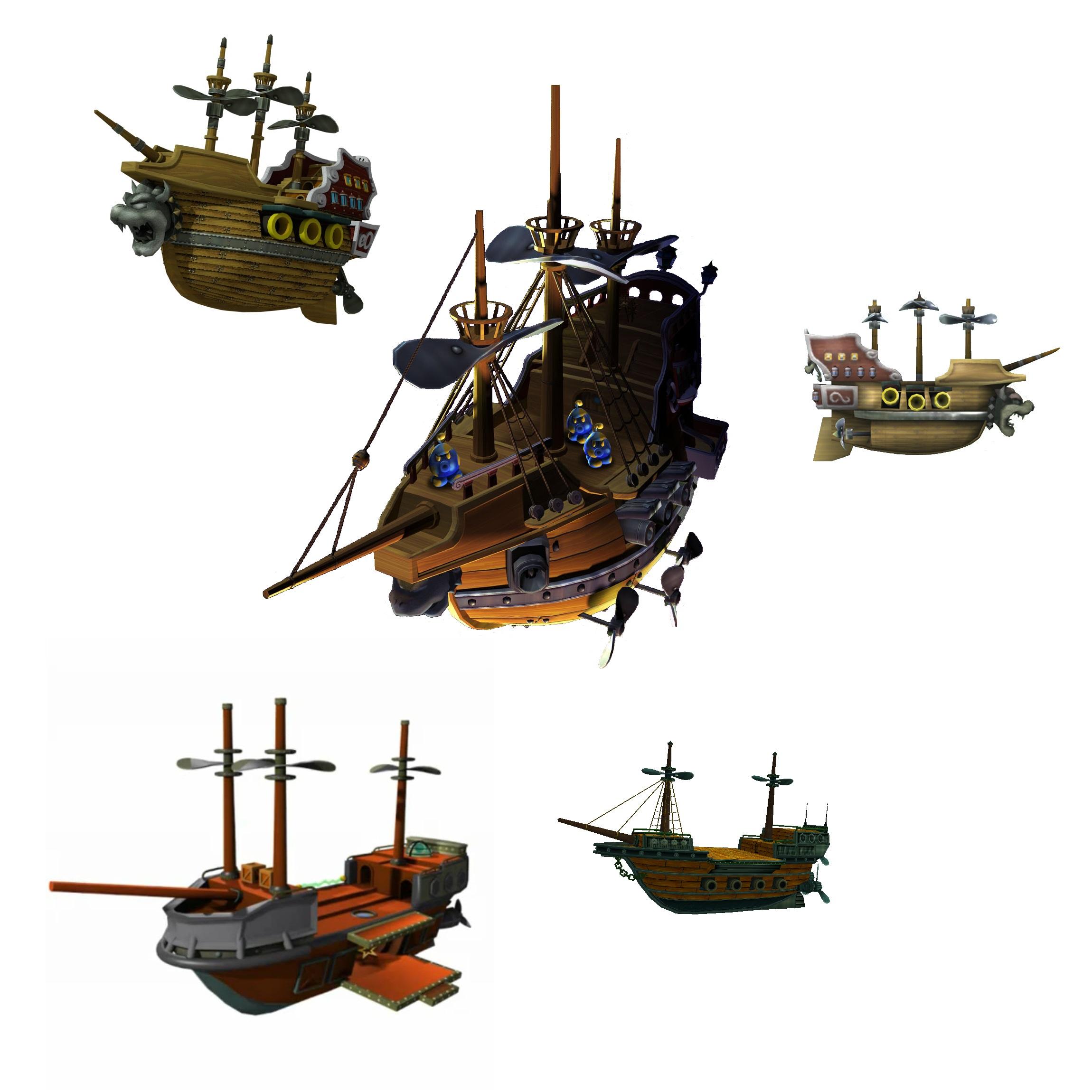 Koopa Airships