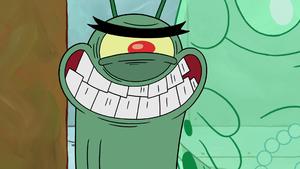 Plankton evil grin