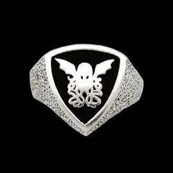 The Cthulhu Crest Ring