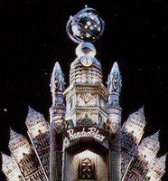 Empress Rita Repulsa's Moon Castle