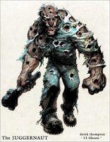 The Juggernaut Ghost