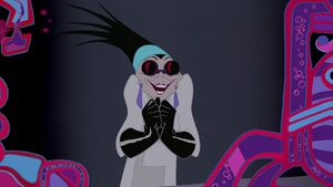 Yzma plotting plan