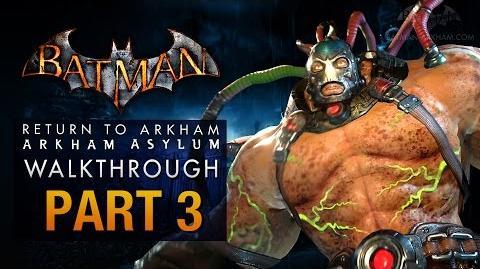 Batman Return to Arkham Asylum Walkthrough - Part 3 - The Medical Facility (Bane)