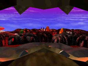 Bowser's Magma Mountain 1