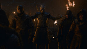 Night King and the dead army