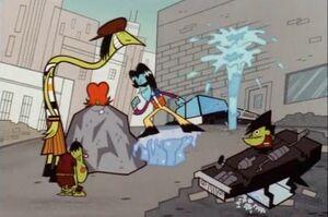 Superpowered Gangreen Gang