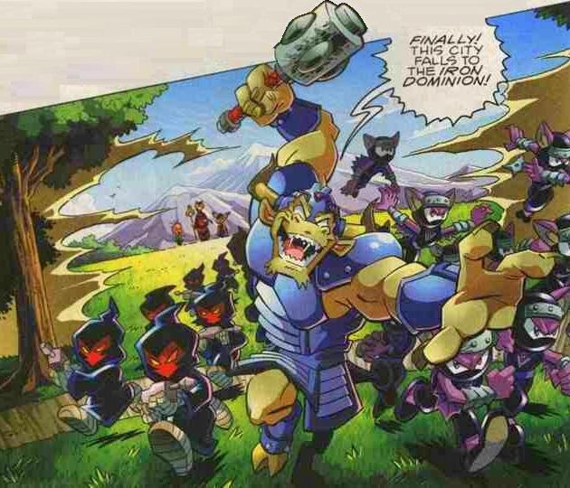 Iron Dominion Takeover