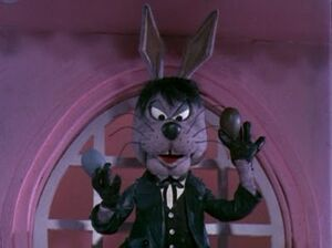 Irontail as Head Easter Bunny