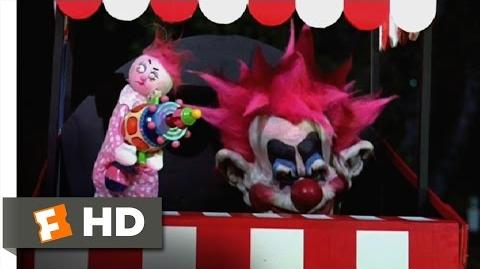 Killer Klowns from Outer Space (3 11) Movie CLIP - Deadly Puppet Show (1988) HD