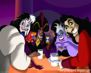 Disney Villains plotting