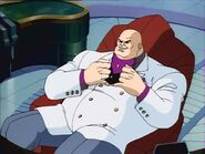 Kingpin on the chair
