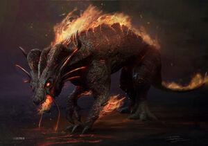 Fire Dragon (Thor Ragnarok)