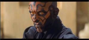 Darth Maul evil stare