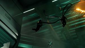 Doctor Octopus capturing Norman Osborn