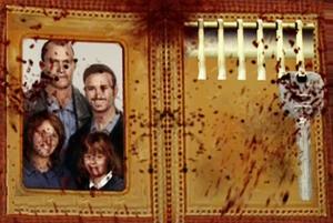 Zdjęcie Cliffa i jego rodziny w jego portfelu