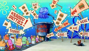 Chum Bucket Restaurant