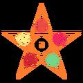 Blazing Morgana Star Multi Color