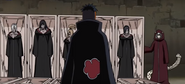 Kabuto reanimates the Akatsuki