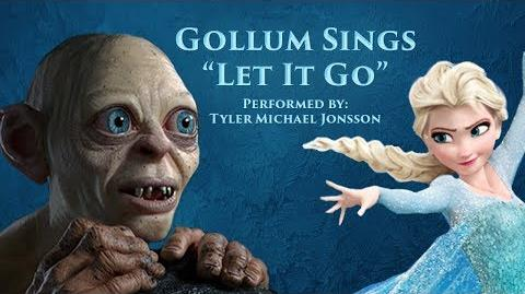 Let It Go (Gollum Parody)