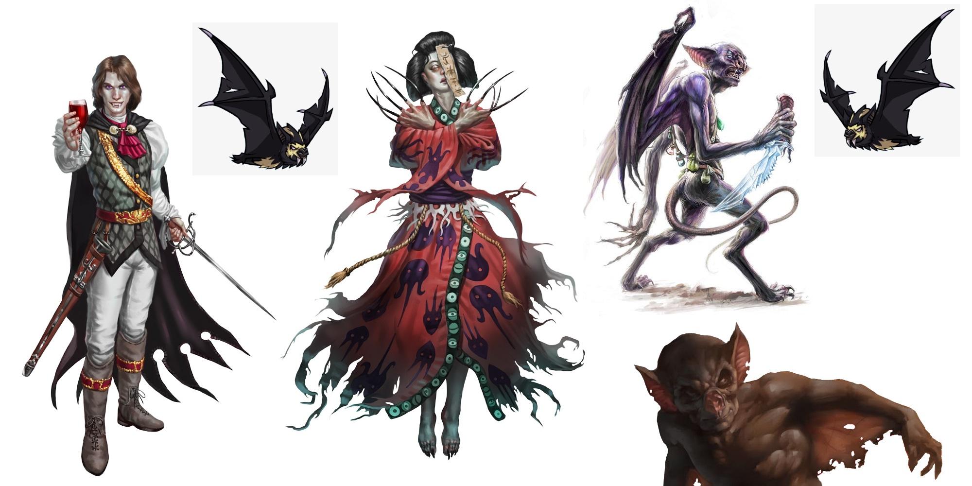 Monstrous Vampires